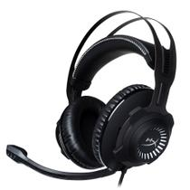 Headset gamer kingston hyperx cloud revolver pro gaming - preto / cinza - hx-hscr-gm