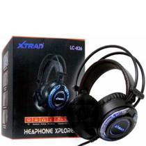 Headset Gamer Led Usb Fone E Microfone LC-826 Xplorer - Xtrad