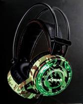 Headset Gamer Led Usb Fone E Microfone LC-827 Xplorer - Xtrad -
