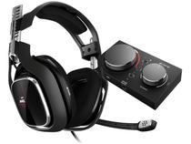 Headset Gamer Logitech Astro A40 + Mixamp Pro Tr  - para Xbox One PC e MAC USB P3 Preto