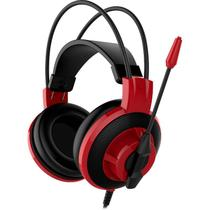 Headset Gamer MSI DS501 Vermelho -