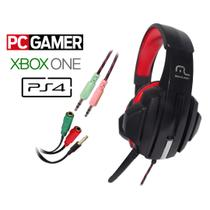 Headset Gamer Multilaser Fone com Microfone para Computador PC Notebook PS4 XBOX-ONE  PH120 -