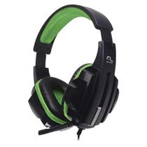 Headset Gamer Multilaser P2 Preto/Verde - PH123