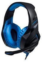 Headset Gamer Multilaser Warrior 2.0 PH244 - com Microfone - Controle de Volume no Cabo - Conector USB - LED Azul -