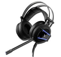 Headset Gamer P2 / USB com LED Azul - Dex