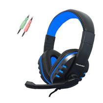 Headset Gamer PC F-1 Com Microfone Ajustável - Tecdrive -