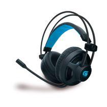 Headset Gamer PRO H2 com LED Azul, P2, Preto - 64390 - Fortrek