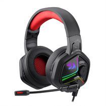 Headset Gamer Redragon Ajax RGB P2 Preto e Vermelho - H390 -