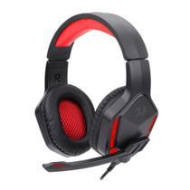Headset Gamer Redragon Themis 2 C/ Microfone -Preto/Vermelho -