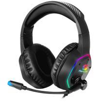 Headset Gamer RGB Blackfire Preto FORTREK -
