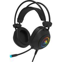 Headset Gamer RGB Crusader Preto FORTREK -