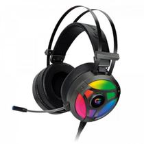 Headset Gamer RGB G Pro H1+ 7.1 Cinza FORTREK -