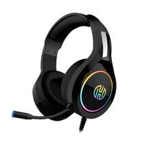 Headset Gamer RGB  P2 e Usb Preto Com Microfone GA-6 - Hoopson -