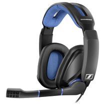 Headset Gamer Sennheiser GSP 300 P2 Preto E Azul -