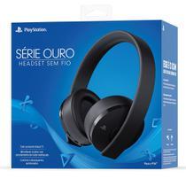 Headset Gamer Sony Série Euro CUHYA-0080BR, Para PS4, Sem Fio, Preto -