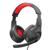 Headset Gamer Trust Ravu GXT307 P2 Preto/Vermelho 22450 -