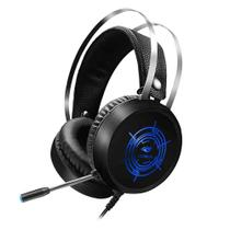 Headset Gamer USB Harrier PH-G330BK USB Preto C3Tech