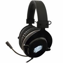 Headset Gamer Usb Virtual Surround 7.1 Led Com Case Furious Hs410 Oex