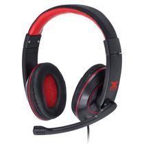 Headset Gamer Vinik Vx Gaming V Blade Com Microfone Preto/Vermelho -