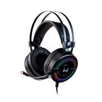 Headset Gamer Warrior Flamma USB 2.0 Stereo LED RGB - PH306 -