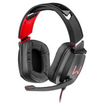 Headset Gamer Warrior Kaden usb RGB pulsante PH301 - Multilaser