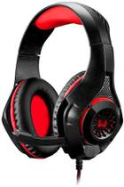Headset Gamer Warrior Led Rama USB+P3+P2 Vermelho PH219 - Multilaser