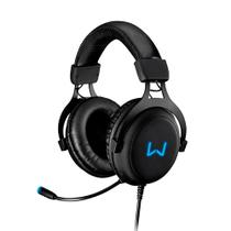 Headset Gamer Warrior Volker 7.1 Usb Com Led Azul Ph258 - Multilaser