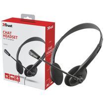 Headset Headset 21665 Primo Chat Com Controle De Volume e Ajuste - Trust