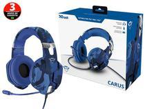 Headset Headset 23249 Gxt-322b Carus Com Driver 50mm - Trust