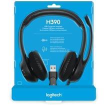 Headset Logitech H390 Preto -