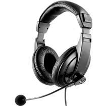 Headset Multilaser Giant Preto C/Microfone PH049 -