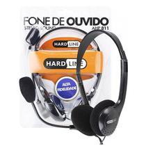 Headset multimídia c/ controle de volume e microfone ahp811 - Hardline