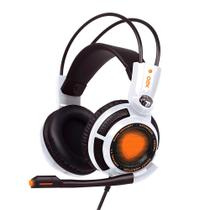 Headset OEX Game Extremor HS400 Branco - Para PS4/PC