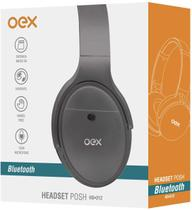 Headset oex hs312 bluetooth posh cinza -