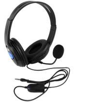 Headset P3 Fone e Microfone Compatível Com Consoles PS4 Xbox One Celulares - Dex