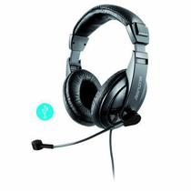 Headset Profissional Com Microfone e Usb Giant Ph245 - Multilaser