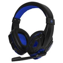 Headset Satellite AE-327 Gaming com Microfone - Azul -