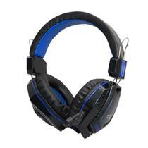 Headset Satellite AE-328 Gaming com Microfone - Azul -