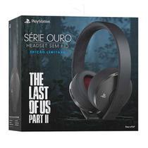 Headset Série Ouro Edição Limitada The Last of Us Part 2 - Ps4