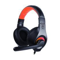 Headset USB com fio C3 TECH PH-350BK Com Microfone Integrado - Preto - C3Tech