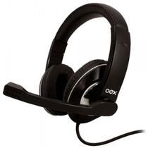 Headset USB Prime Microfone HS201 Preto - Oex -