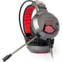 Headset X6 Gamer Leadership - Grafite -