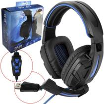 Heardphone Gamer 7.1 Surround Iluminado DF-96 DF-96 DEX -