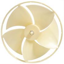 Helice ar condicionado springer mundial 7500 9000 plastico com anel -
