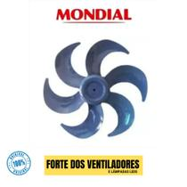 Hélice Do Ventilador Mondial Nv-32 30cm 6 Pás Azul Original -