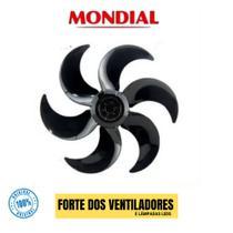 Hélice Para Ventilador Mondial  30cm 6 Pás Preta -