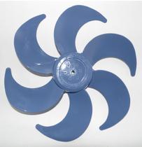 Hélice para ventilador mondial 6 pás 30 cm azul - DINÂMICA