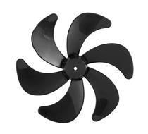Hélice plástica 6 pás 30cm preto para ventilador Philco 30 Turbo -