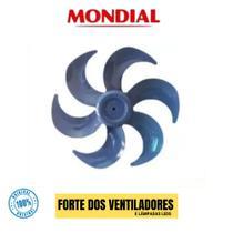 Hélice Vent Mondial V45 Azul 40cm 6 Pás Original -