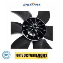 Hélice Ventilador Britania 30cm 6 Pás Bvt 300 Preta Original -